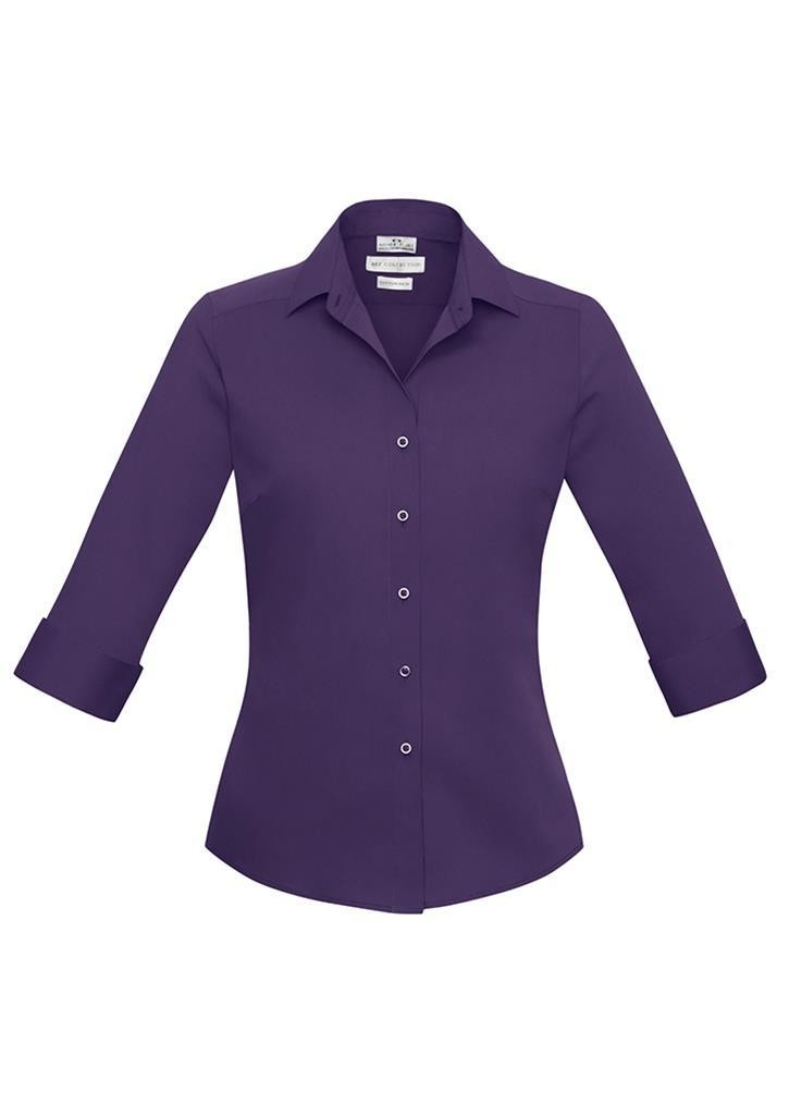 Buy verve ladies three quarter sleeve shirt available with for Spa uniform nz