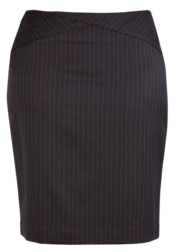 Biz Corporates 20214 Ladies Chevron Band Skirt