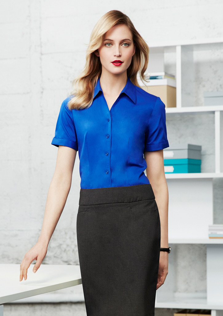 Innovative WomenLadiesCasualChiffonBlouseShortSleeveShirtTshirtSummer