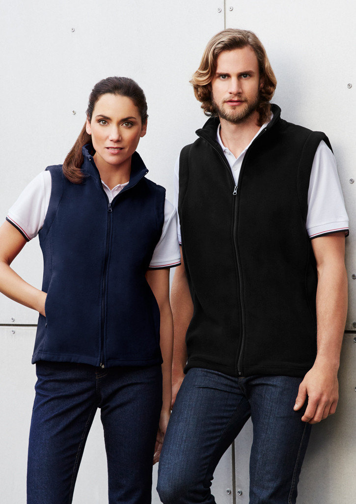 Mens Poly Fleece Vest Clothing Direct Nz