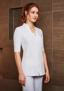 Cheap beauty tunics spa uniforms in new zealand for Spa uniform tunic