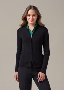 Ladies 2 Way Zipper Cardigan