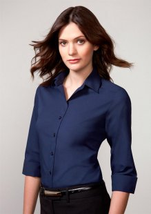 Verve Ladies 3/4 Sleeve Shirt