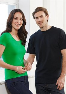 Mens Short Sleeve Stretch Tee