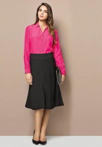 Ladies 3/4 Length Fluted Skirt