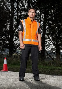 Mens TTMC-W Fleece Lined Vest