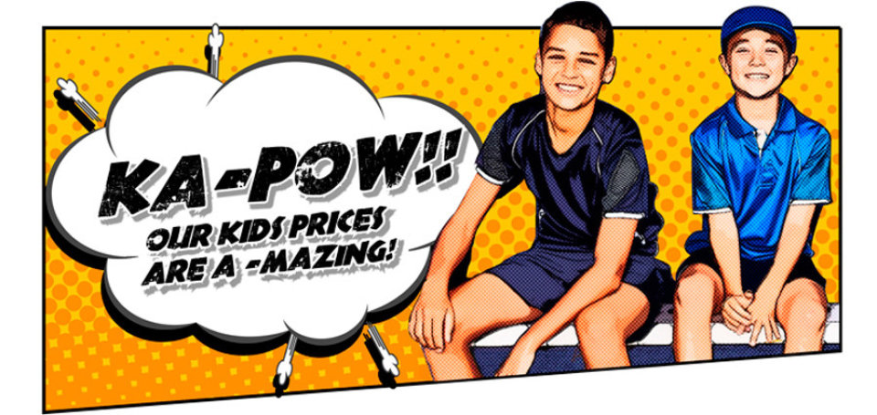 Kids clothing prices are amazing
